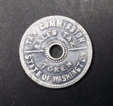 State of Washington Tax Commission Sales Tax Token (5086-1059)