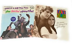 LOVE-STORY-Francis-Lai-YOU-039-RE-A-BIG-BOY-NOW-The-Lovin-Spoonful-LP-Vinyl-Record