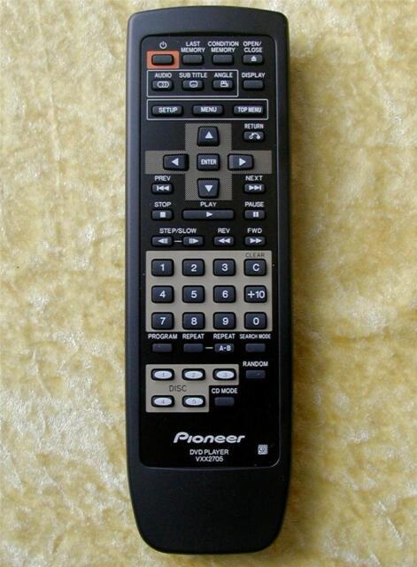 ORIGINAL  PIONEER Remote Control  VXX2705
