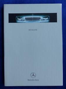 Mercedes-Benz-S-Klasse-S-600-W220-MJ-2000-Hardcover-Prospekt-Brochure-11-1999