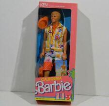 1987 California Dream Barbie Ken Doll #4441