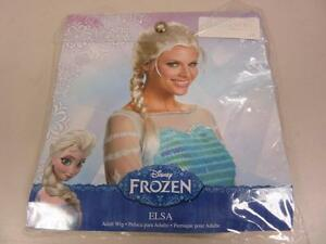 Disguise-Women-039-s-Elsa-Adult-Costume-Wig-Frozen