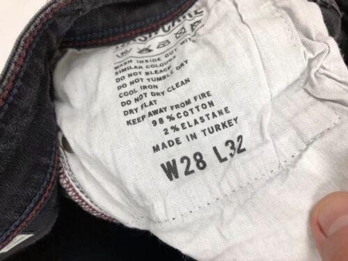 Skinny Jeans Faded L32 Ottime Wills delle condizioni donne Jack Black W28 6xU5Rn