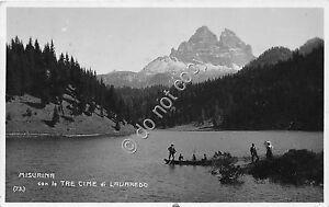 Cartolina-Postcard-Lavaredo-Le-tre-cime-1927