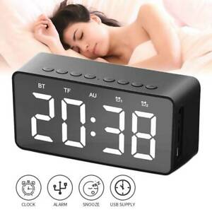 Lloytron-AM-FM-Radio-Alarm-Clock-LED-Display-Bedside-with-Sleep-Timer-and-Snooze