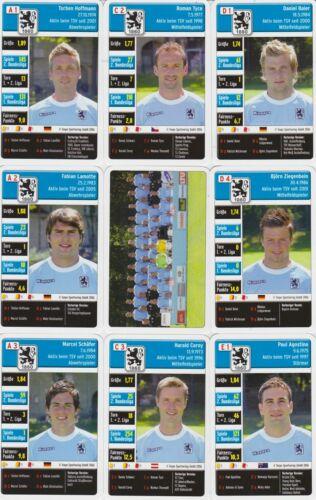 1860 München Quartett Kartenspiel 2006//07 Bundesliga Karten Fußball OVP Neu