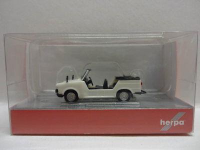 Herpa 024808-003 Trabant Kübel perlweiß H0 Modell 1:87