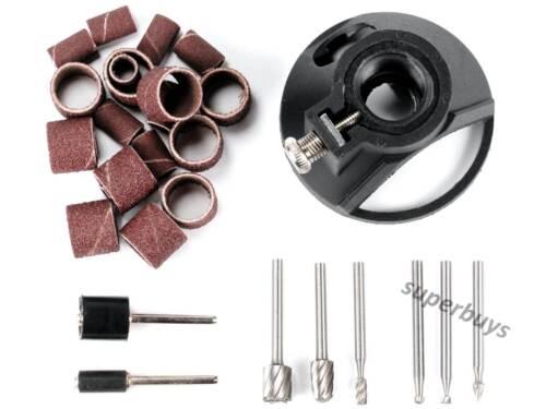 29pcs Dremel Multipurpose Cutting Kit Sanding Band Locator Drill Bit Mandrel 565