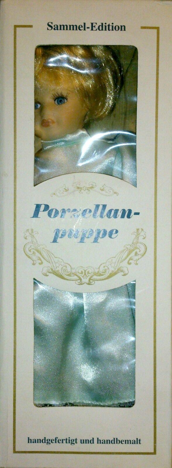 Sammelpuppe OVP Porzellan Puppe in Top Zustand, OVP Sammelpuppe d5095d