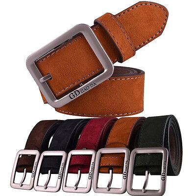 2015 Mens Belt Casual Leather Waistband Automatic Buckle Belt Waist Strap Belts