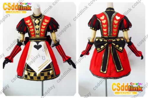 Alice Madness Returns Royal Dress Cosplay Costutme MM99