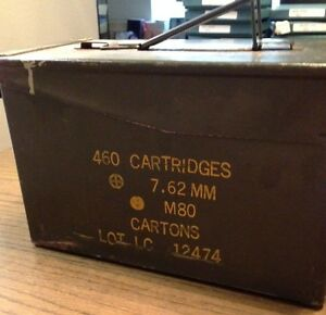 Vintage-Military-Small-Arms-Ammunition-Cartridge-Case