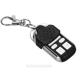 key fob garage door openerABCD 4 Button Electric Garage Door Remote Control Key Fob 433MHz