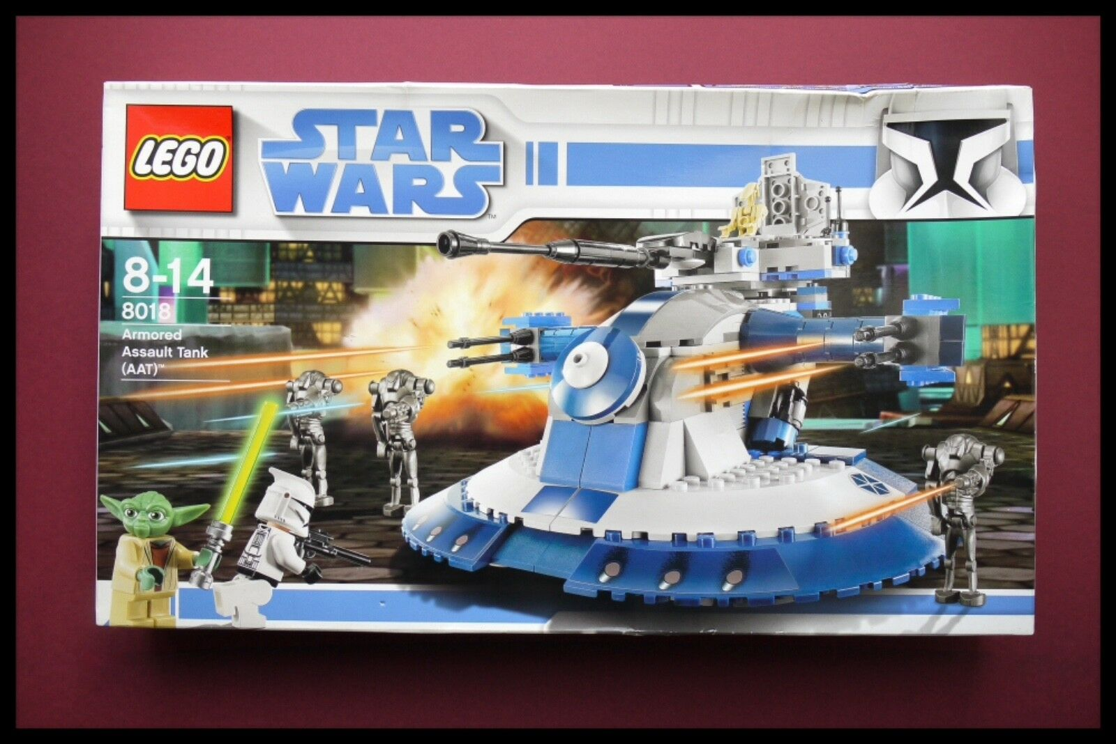 LEGO STAR STAR STAR WARS 8018 AAT ARMORER ASSAULT TANK RETIrot EXTREMELY RARE UNOPENED f8fc76
