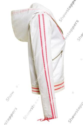 NEW Women/'s Bomber Jacket Size 10 12 14 Casual Lightweight Hooded Girls Coat