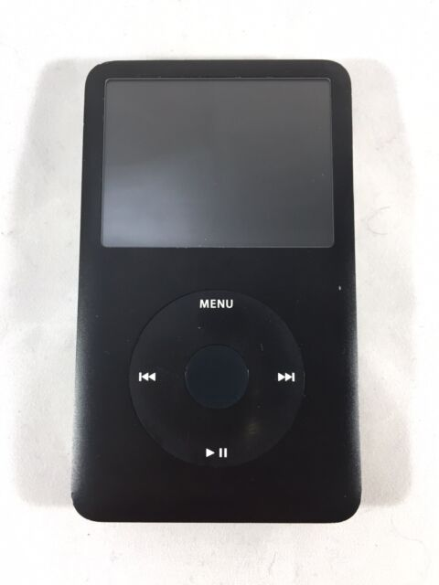Apple iPod Classic Black A1238 6th Generation 80GB MP3 Player FOR PARTS AS IS
