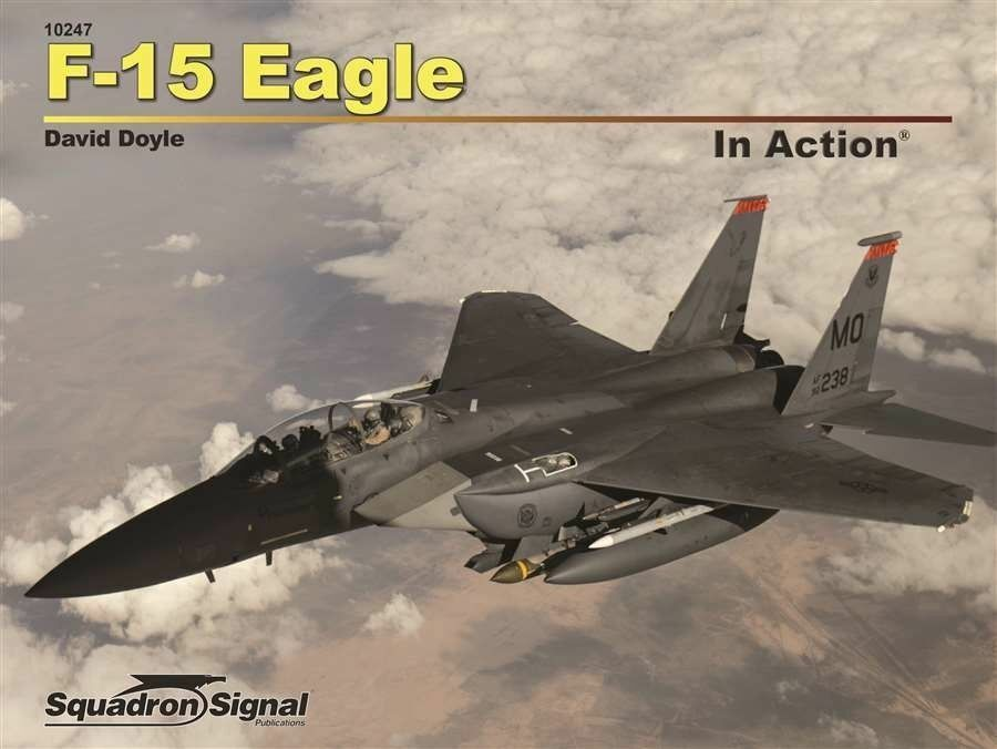 Squadron SIGNAL f-15 Eagle in Action n.10247 color Series-by David Doyle
