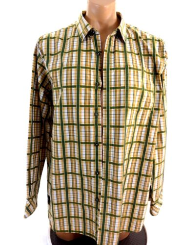 ROCAWEAR MULTI COLORED PLAID CASUAL SHIRT 2XL