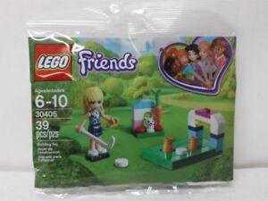 LEGO Friends Polybag Stephanie/'s Hockey Practice 30405 NEW SEALED