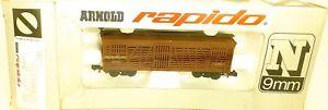 Union-Pacific-4820-Wagon-de-Marchandises-arnold-Rapido-0482-C-N-1-160-Ovp-HU3-A
