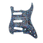 Abalone Pearl 4Ply SSS Pickguard For Fender Standard Stratocaster Strat Guitar