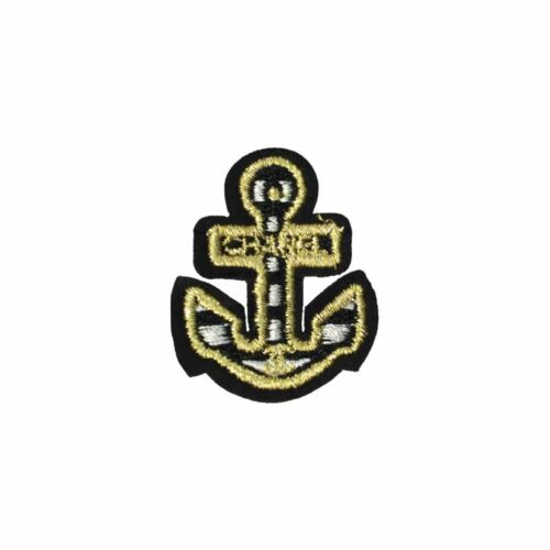 Iron On Embroidery Applique Patch Sew Iron Badge Marine Sailor Ship Anchor