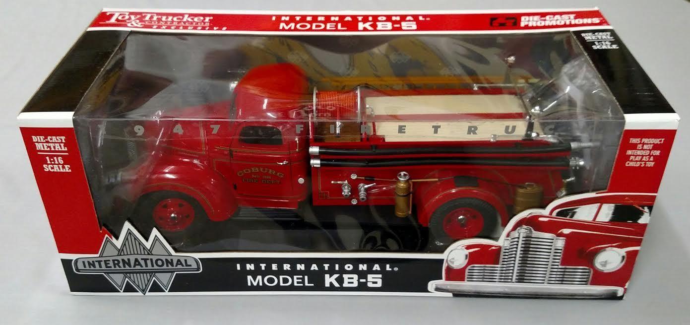 Toy Trucker & Contractor 1 16 IH Model KB-5 Fire Truck, Die-cast Promotions