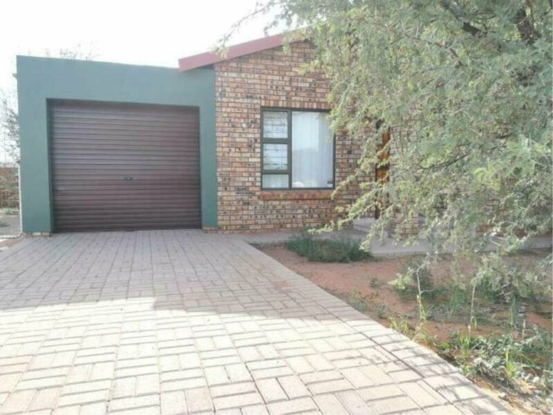 3 Bedroom House To Let in Kathu