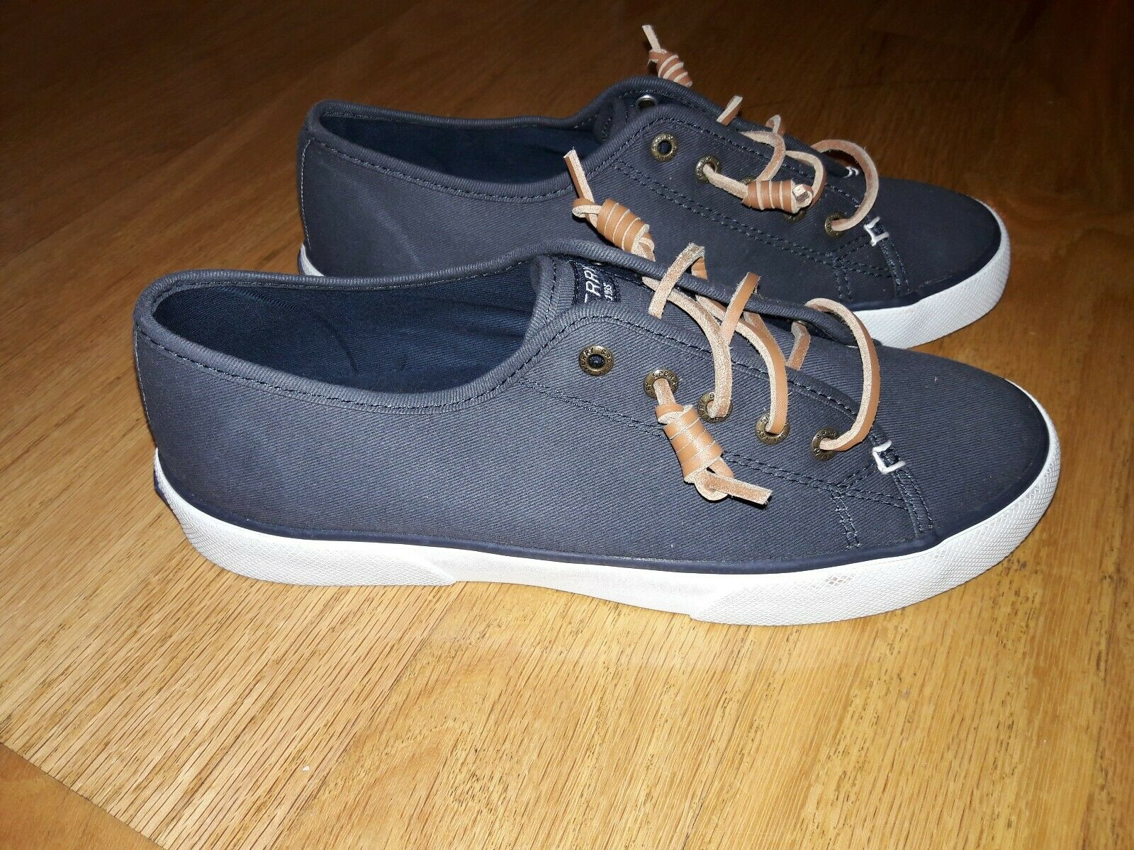 Sperry STS95129 Women's Pier View Shoes Navy Size 7.5M
