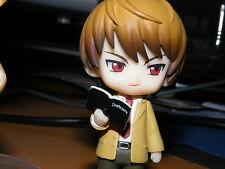 Light Yagami Nendoroid Petit / Puchi Case File #01 GENUINE (with death note)