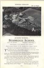 1964 School Bembridge , Isle Of Wight Rendall, P G
