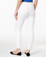 HUE-Ripped-Knee-Original-Denim-Skimmer-Leggings-White thumbnail 2