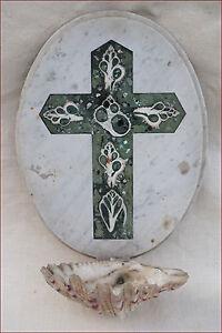Petra Dura Come La Pietra.Rare Italian Holy Water Font In Pietra Dura Shell Mother Of Pearl
