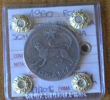 AMMINISTRAZIONE FIDUCIARIA SOMALIA ITALIANA 1950 1 SOMALO sigill BB+ SUBALPINA