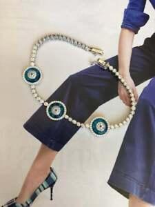 Vintage-Evil-Eye-Tennis-7-25-034-Bracelet-in-14k-White-Gold-Over-Round-Brilliant-Cut