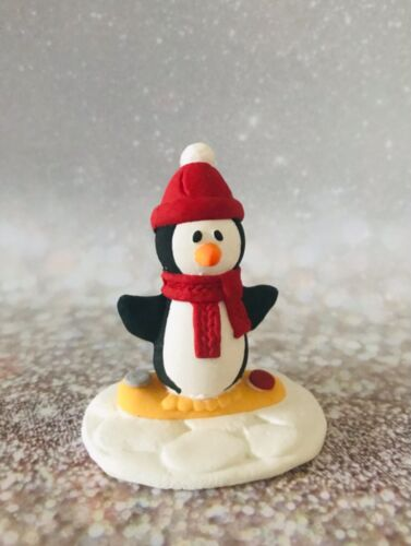 Santa,Penguin,Robin,Tree,Reindeer Angel Christmas Cake Topper Decorations