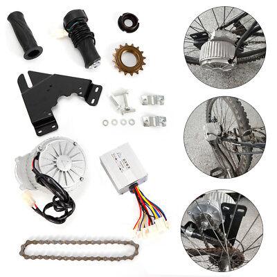 Electric Conversion Kit for Common Bike Left Chain Drive Custom 24V//36V 450W HOT