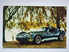 MAKO SHARK II Chevrolet auto automobile car vecchia cartolina