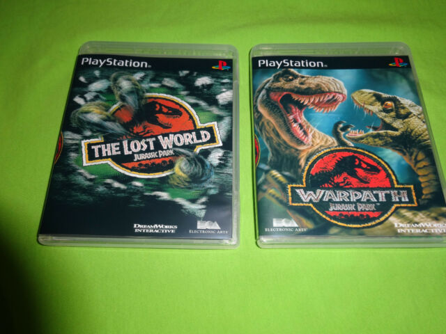 EMPTY CASES!  Warpath: Jurassic Park  Lost World  Sony PlayStation 1 PS1 PS2 PS3