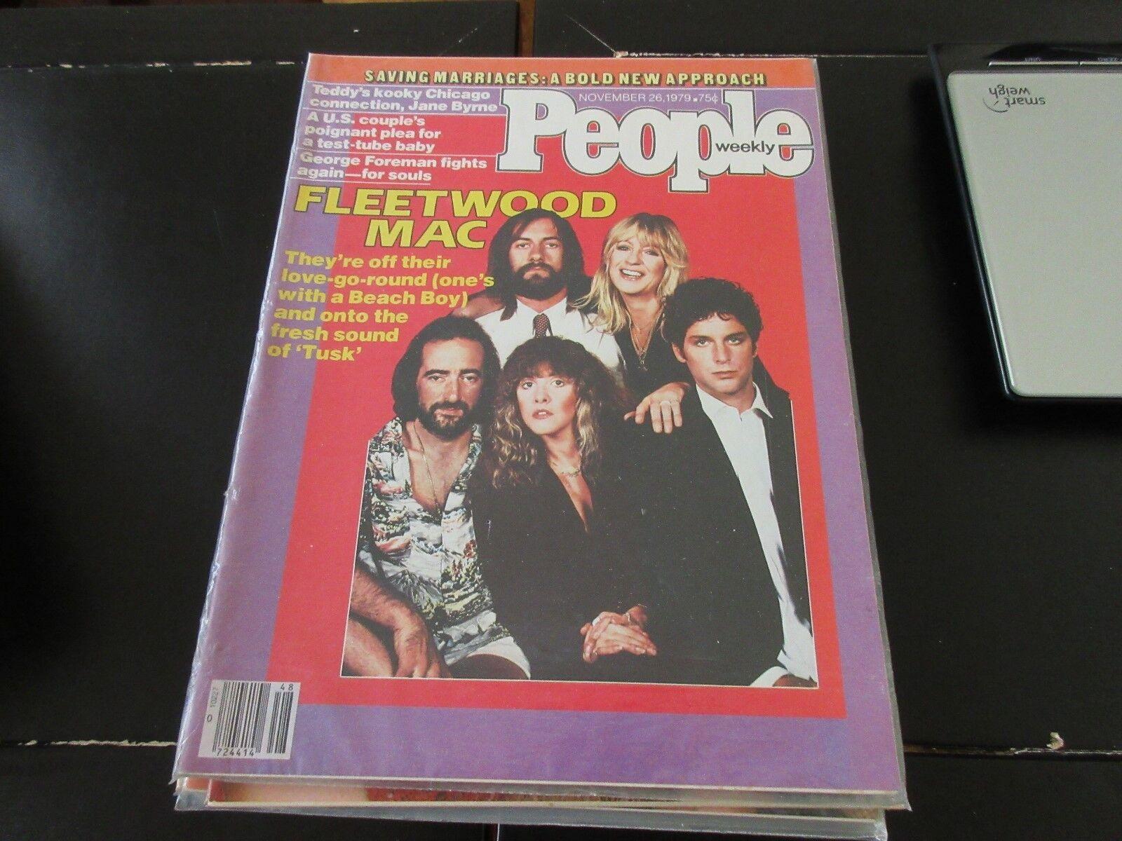 People Weekly , November 26 ,1979 , Fleetwood Mac , Geo