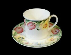 Beautiful-Villeroy-Boch-Canari-Cup-And-Saucer
