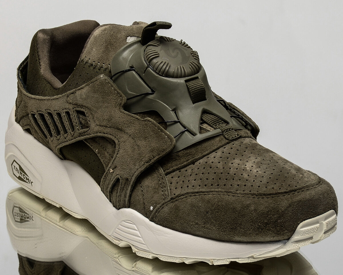 Puma Disc Blaze Mono men casual lifestyle sneakers sneakers sneakers shoes NEW green 362684-02 8977c3