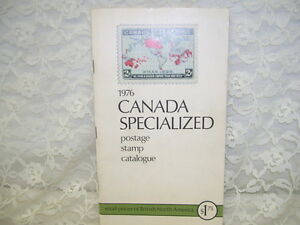 CANADA SPECIALIZED POSTAGE STAMP CATALOGUE 1976 CATALOG