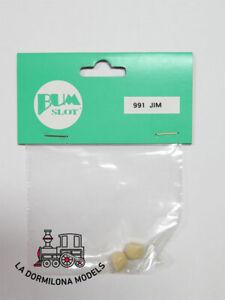 Bum 991 Jim Scalextric Slot - Blister Par De Cascos De Piloto (resina) - (c84) Avoir à La Fois La Qualité De TéNacité Et De Dureté