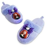 Disney Authentic Brave Princess Merida Girls Soft Slipper Shoes Sz 9/10 Gift