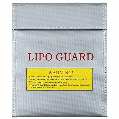 LiPo Battery Safety Bag Safe Guard Charge Sack 23x30cm 230x300mm