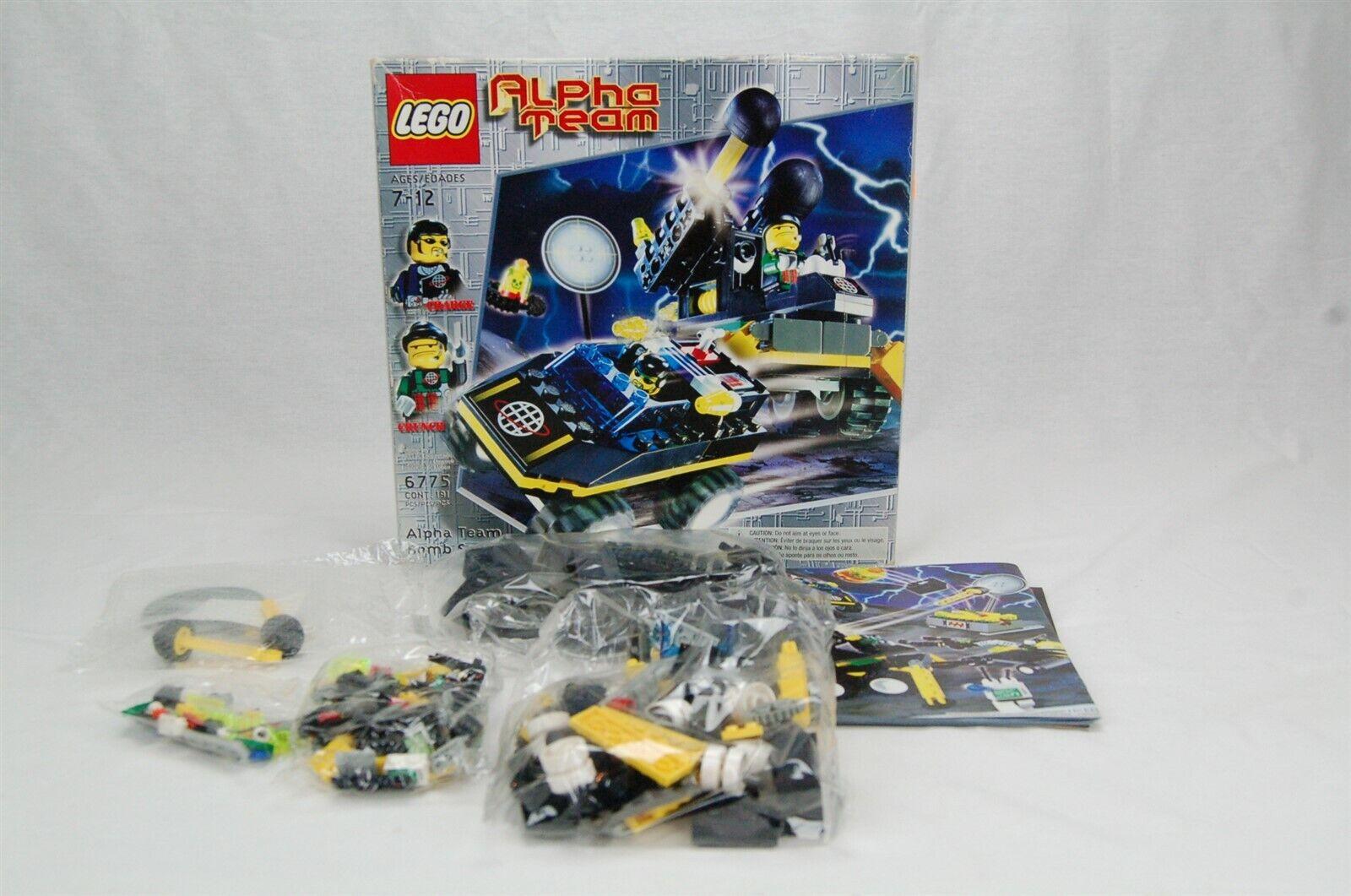 Lego 6775 Alpha Team Bomb Squad in Box