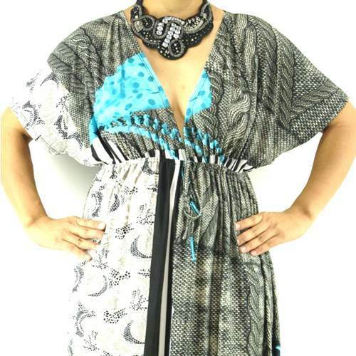 NWT Plus L 1XL 2XL Casual High Quality Polyester Spandex Short Sleeve Maxi Dress