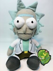 Rick-and-Morty-Plush-Toy-Factory-License-Stuffed-Doll-Rick-Adult-Swim-10-034-NWT