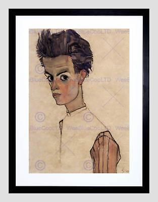 Man Artist Painter  8x10 Print 2466 Self Portrait by Egon Schiele